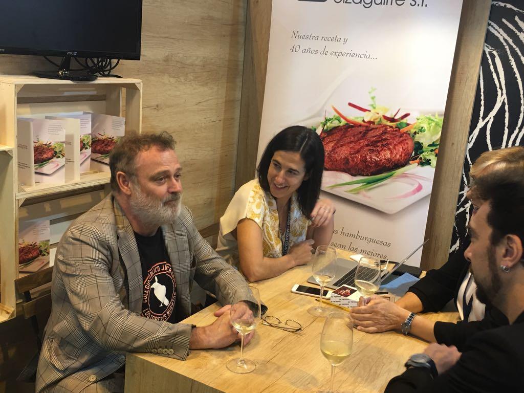 Con Pablo Carbonell en el Salón de Gourmets